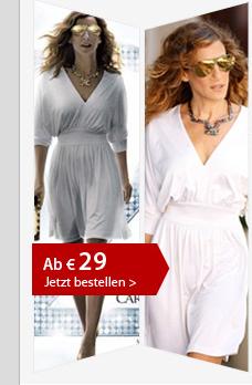 Nr. 1 Carries Weißes Kleid