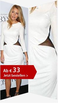 Nr. 2  Blakes Weißes Kleid