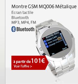 Montre GSM MQ006 Métalique