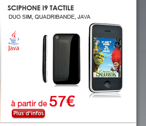 Sciphone i9 tactile