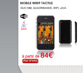 Mobile W009 tactile