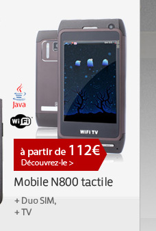 Mobile N800 tactile