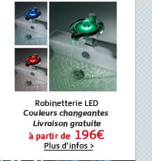 Robinetterie LED