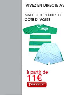 Maillot de l'équipe de Côte d'Ivoire