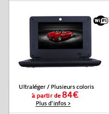 Wifi, Ultraléger, Plusieurs coloris