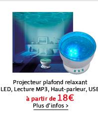 Projecteur plafond relaxant