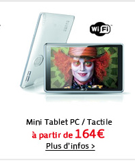 Mini Tablet PC, Tactile, Wifi