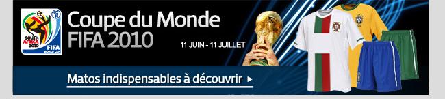 Produits sélectionnés pour la coupe du monde