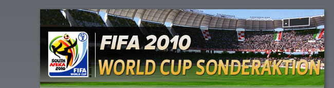 FIFA 2010 World Cup Sonderaktion