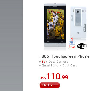 F806  Touchscreen Phone