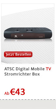 ATSC Digital Mobile TV Stromrichter Box