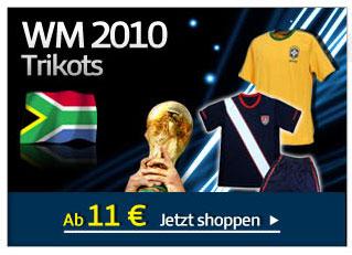 WM 2010 Trikots
