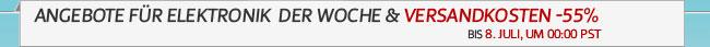 Angebote für Elektronik DER WOCHE & Versandkoste