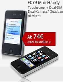F079 Mini Handy