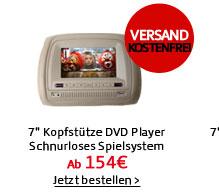 7 Kopfstütze DVD Player