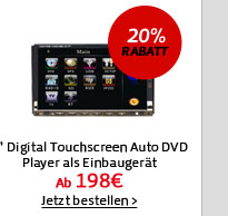 7 Digital Touchscreen Auto DVD