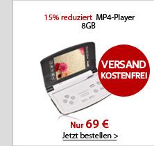 15% reduziert MP4-Player