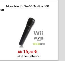 Mikrofon für Wii/PS3/xBox 360