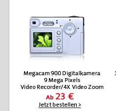 Megacam 900 Digitalkamera