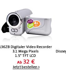 136ZB Digitaler Video Recorder