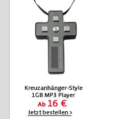 Kreuzanhänger-Style