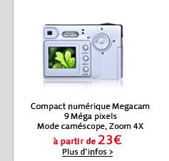 Compact numérique Megacam