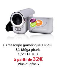 Caméscope numérique 136ZB