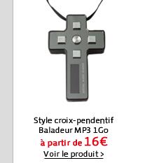 Style croix-pendentif