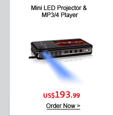 Mini LED Projector & MP3/4 Player