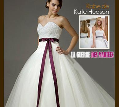 Robe de Kate Hudson dans La guerre des mariées