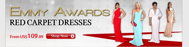 Emmy Awards Red Carpet Dresses