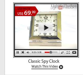 Classic Spy Clock