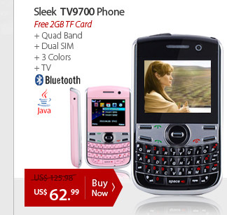 Sleek TV9700 Phone