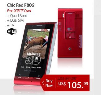Chic Red F806