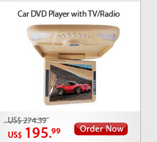 Car DVD Player with TV/Radio
