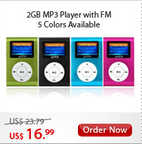2GB MP3 Player with FM