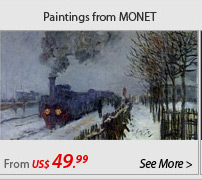 Paintings from MONET
