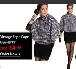 Vintage Style Cape