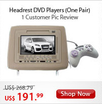 Headrest DVD Player Set (Pair)