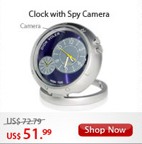 Clock with Spy Camera