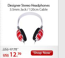 Designer Stereo Headphones