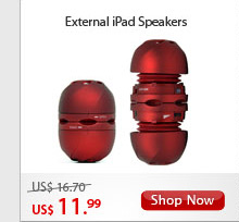 External iPad Speakers