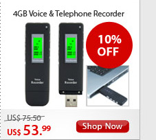 4GB Voice & Telephone Recorder