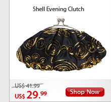 Shell Evening Clutch