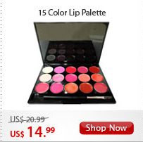 15 Color Lip Palette
